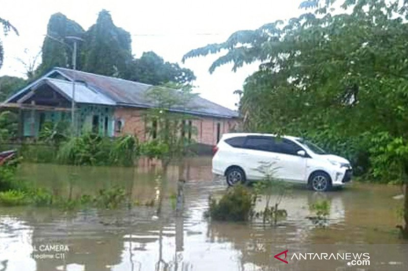 Empat desa di Kecamatan Tanjung Palas Timur, Kaltara terendam banjir