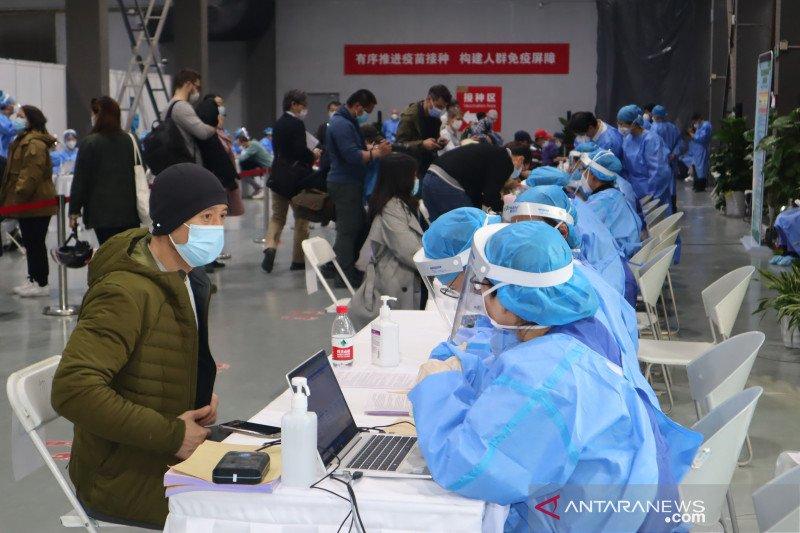 WNA di Beijing mulai divaksin, di Shanghai mulai didaftar