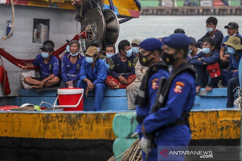 Penangkapan kapal nelayan asing di Perairan Natuna Utara
