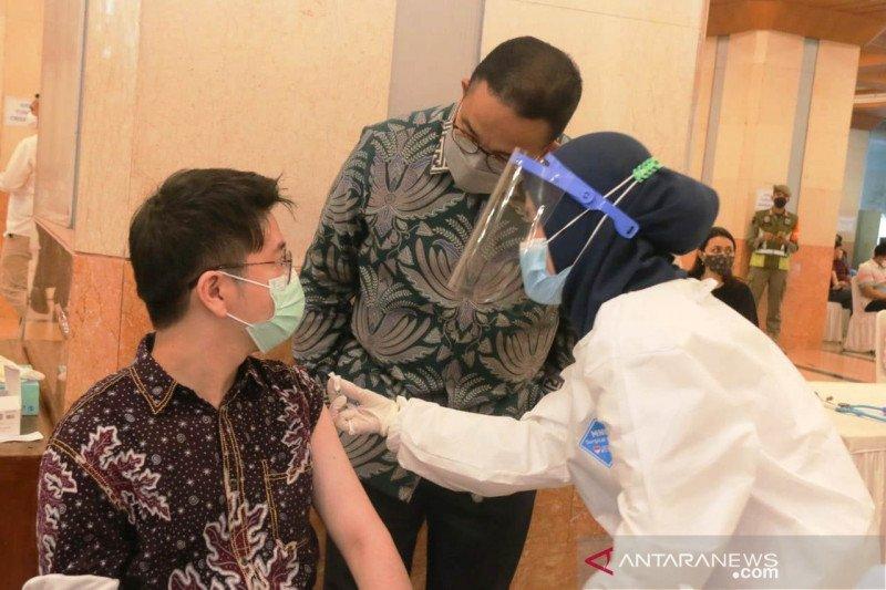 4.371 wartawan terima vaksinasi yang difasilitasi Pemprov DKI