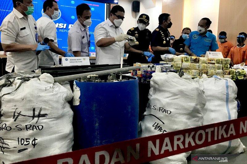 """Sindikat Malaysia-Madura pakai """"door closer"""" sembunyikan narkoba"""
