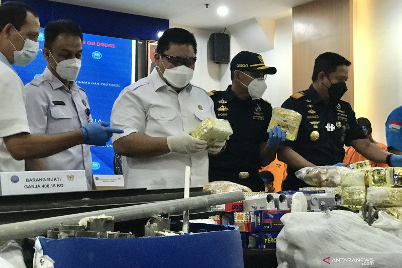 BNN sita 87 kg sabu dan 400 kg ganja jaringan Malaysia-Madura