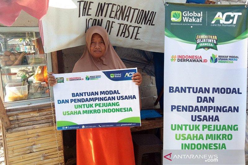 ACT salurkan modal untuk pelaku usaha mikro di Ambon