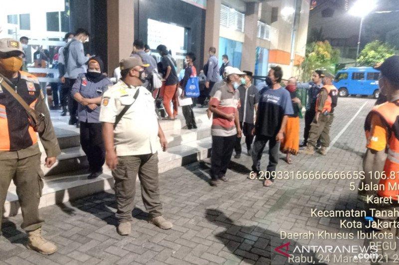 89 penyandang masalah kesejahteraan terjaring Satpol PP Jakarta Pusat