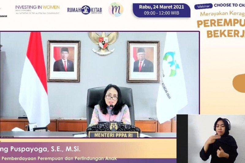 Menteri PPPA minta perempuan Indonesia tidak berhenti belajar
