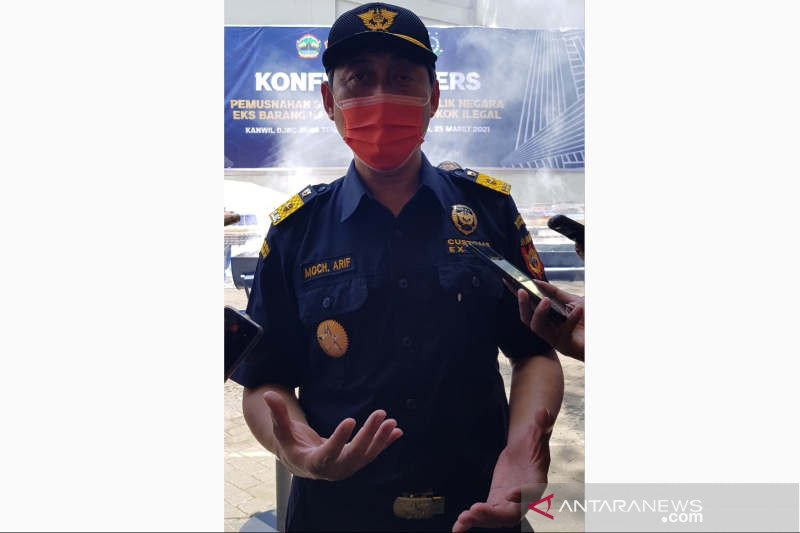 Bea Cukai: Rokok ilegal marak bukan karena keterbatasan pita cukai