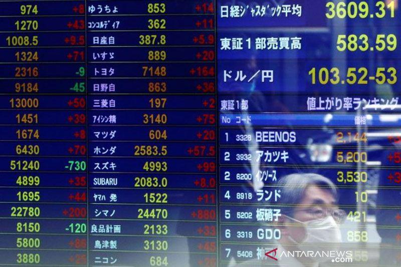 Saham Asia akan beragam, tertekan berita ekonomi AS dan lockdown Eropa