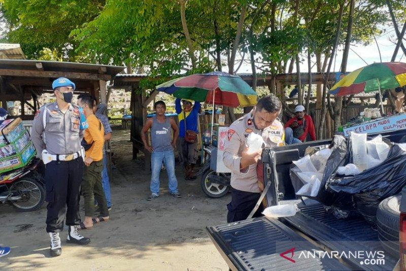 Polres Sukabumi gagalkan penyelundupan belasan ribu benur lobster laut