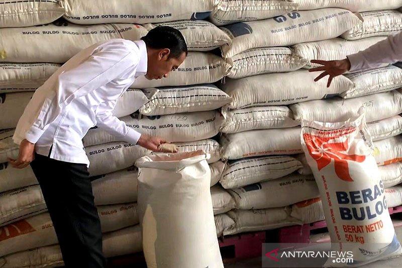 Sepekan, tidak ada impor beras hingga pendirian Indonesia Battery Corp