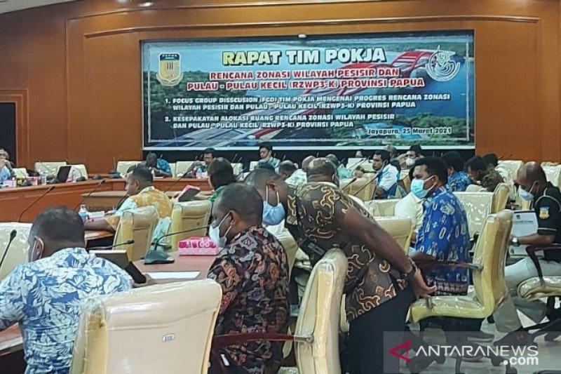 Pemprov Papua dorong percepatan penyusunan dokumen tata ruang laut