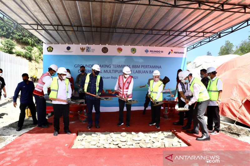 Menteri ESDM: Terminal BBM Labuan Bajo tingkatkan ketahanan stok BBM