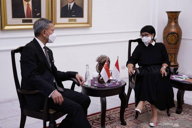 Singapura berkomitmen kerja sama penegakan hukum dengan Indonesia