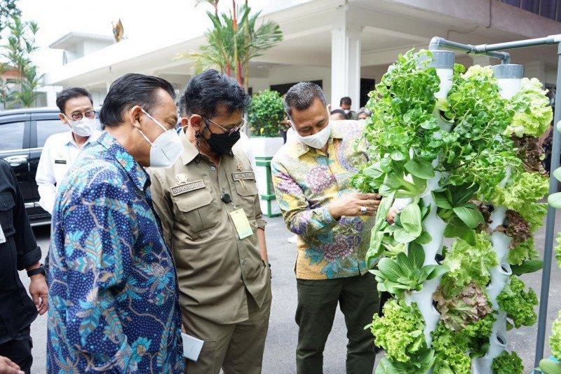 Mentan sampaikan lima pesan khusus untuk petani milenial di Jombang