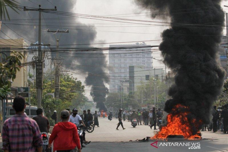 Korban tewas dalam unjuk rasa Myanmar lampaui 500 jiwa