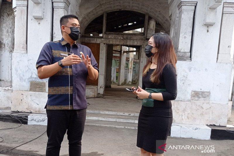 Dishub Medan tutup 13 ruas jalan di peluncuran Kesawan City Walk