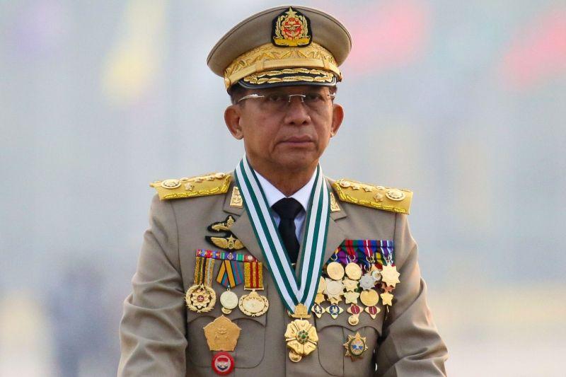 Pimpinan junta Myanmar akan hadiri KTT ASEAN di Jakarta