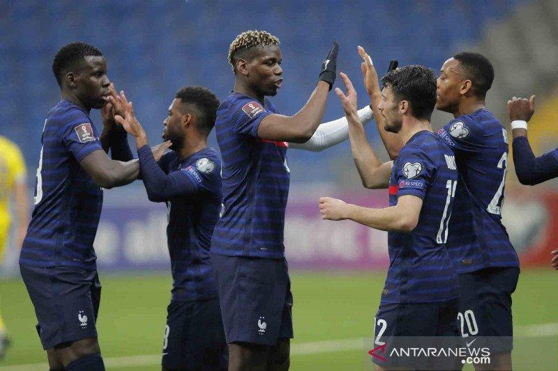 Prancis hadapi Wales dan Bulgaria pada laga pemanasan jelang Euro 2020