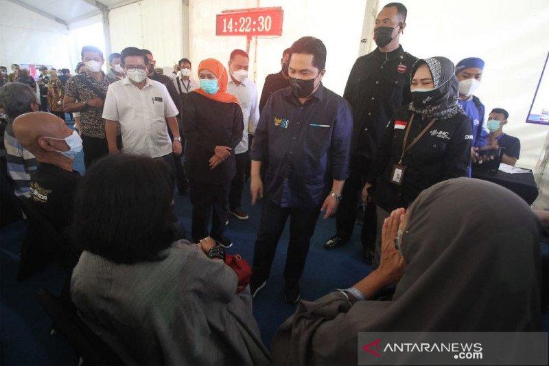Menteri BUMN: Bom bunuh diri di Makassar bisa ganggu vaksinasi