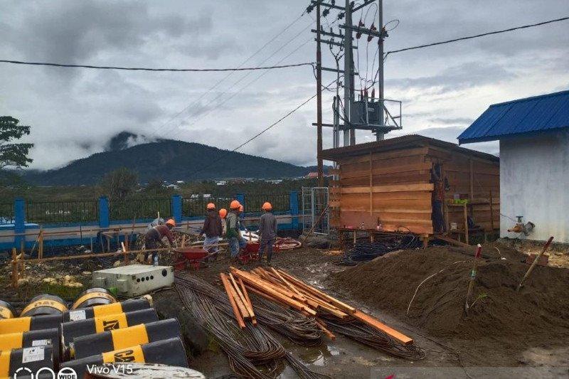 PLN Papua targetkan bangunan jaringan tiga kabupaten selesai Juni