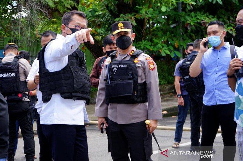 Polisi pastikan korban meninggal dunia bom bunuh diri satu orang