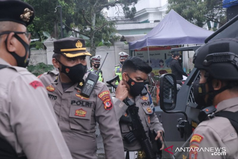Polresta Bogor Kota tingkatkan pengamanan gereja di Kota Bogor