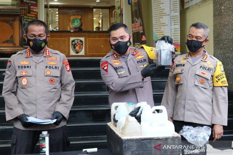 Tim Gegana musnahkan lima bom milik teroris Bekasi dan Condet