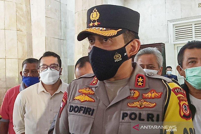 Kapolda Jabar pastikan keamanan sekitar lokasi kebakaran di Balongan