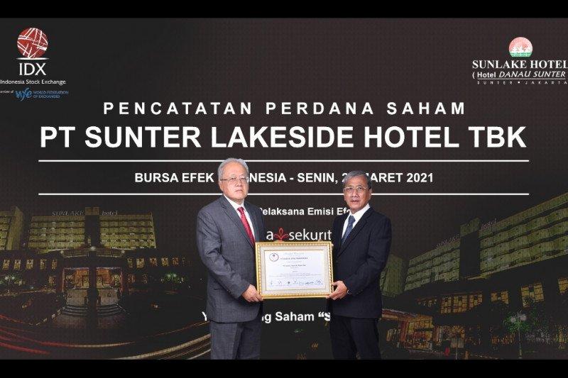 Sunter Lakeside Hotel resmi melantai di bursa