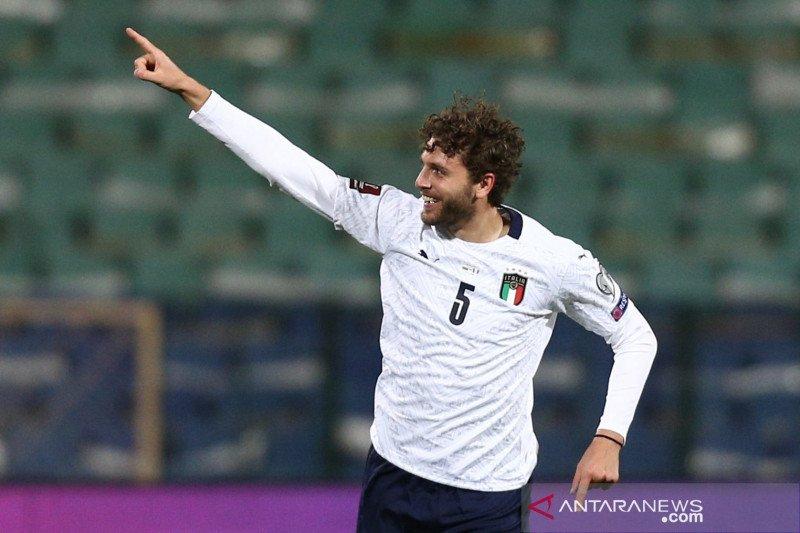 Kualifikasi Piala Dunia: Italia tundukkan Bulgaria 2-0