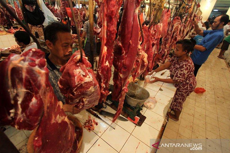 Kemendag: Harga daging sapi Jabodetabek menonjol, harga di daerah aman
