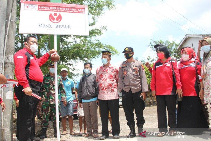 Dusun Kidul Besuk jadi kampung donor darah siaga pertama di Jember