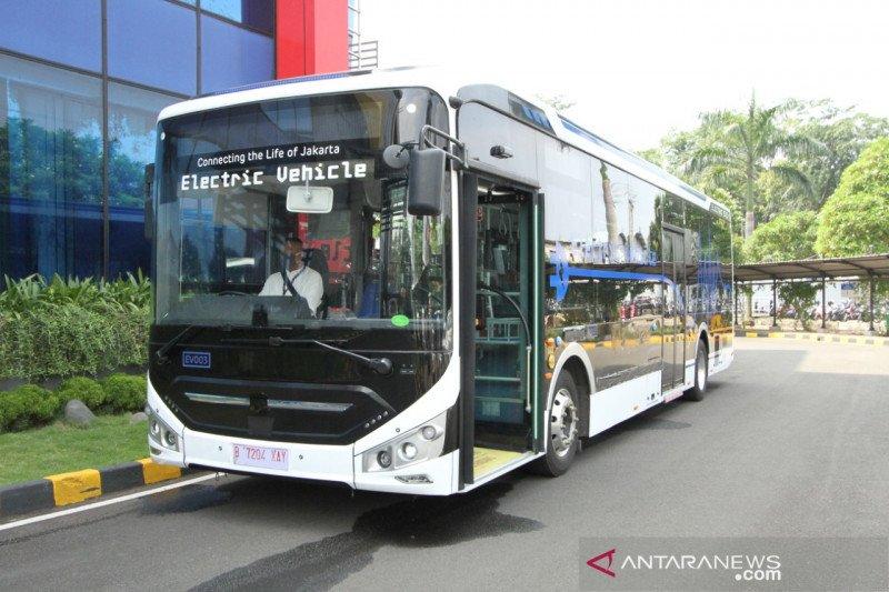 TransJakarta targetkan 100 unit bus listrik beroperasi tahun ini