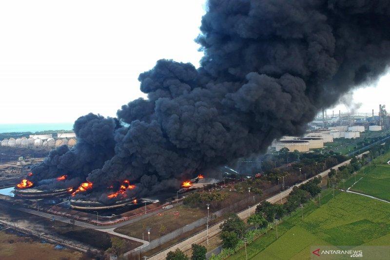 Polisi ungkap dugaan sementara penyebab kebakaran Kilang Balongan