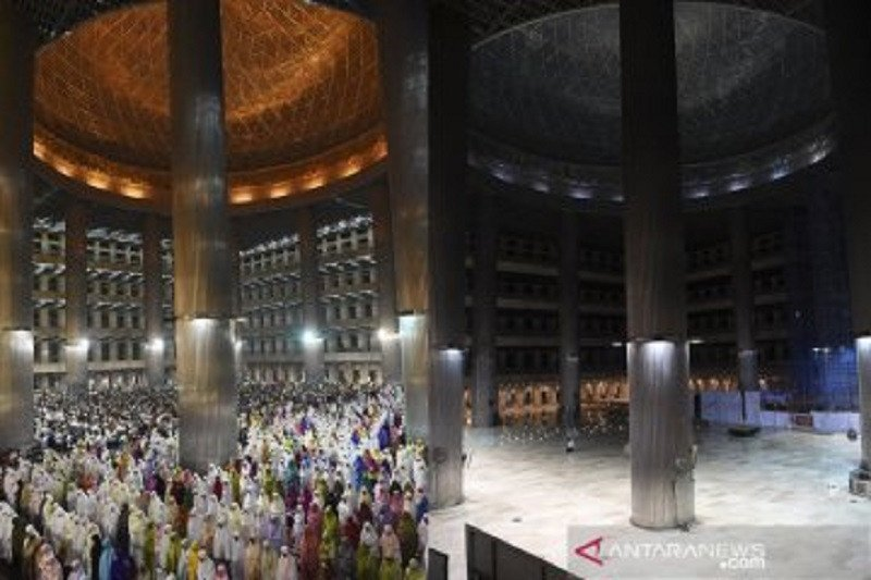 Masjid Istiqlal hanya tampung 2.000 jamaah untuk Shalat Tarawih