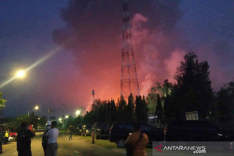 Polisi tunggu api Kilang Pertamina Balongan padam untuk investigasi