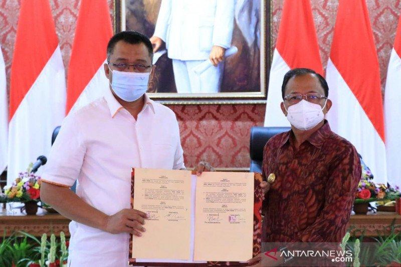 Gubernur Bali-NTB tanda tangani enam kesepakatan pembangunan daerah