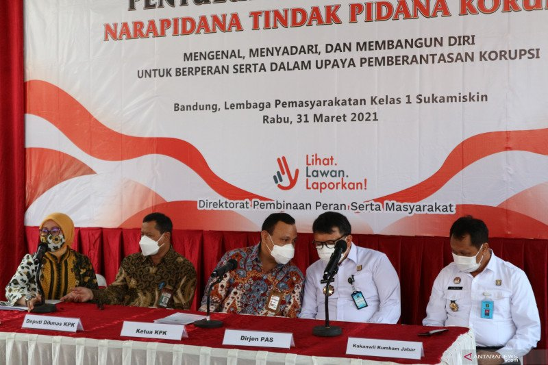 Firli: Penyuluhan antikorupsi untuk napi agar tak ulangi perbuatan