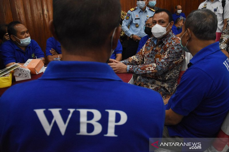 Penyuluhan antikorupsi bagi napi tindak pidana korupsi