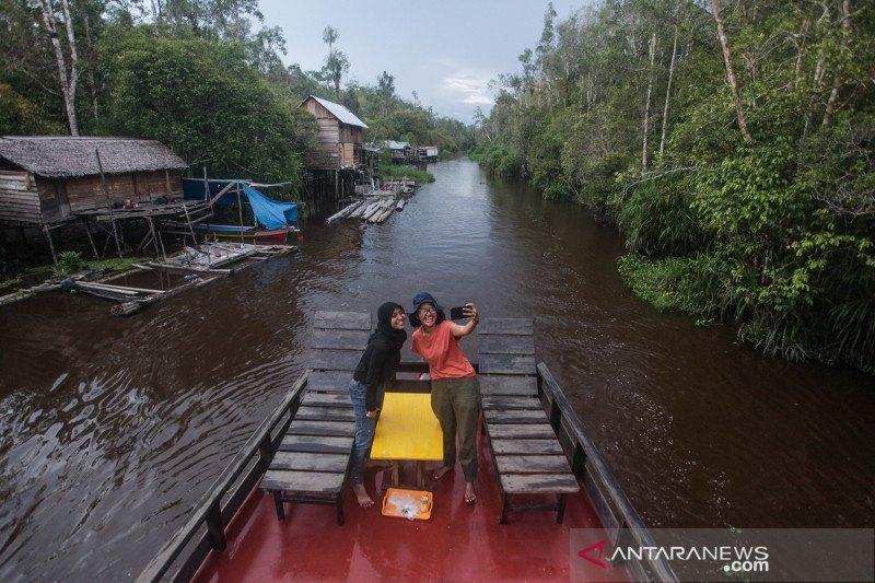 Wisata susur sungai Taman Nasional Tanjung Puting