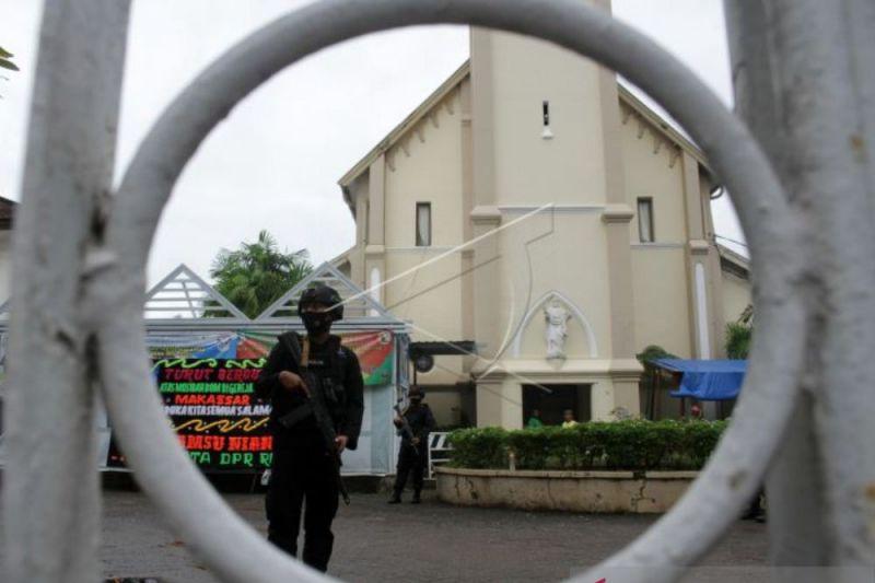 Gereja Katedral Makassar kembali dibuka sambut Paskah