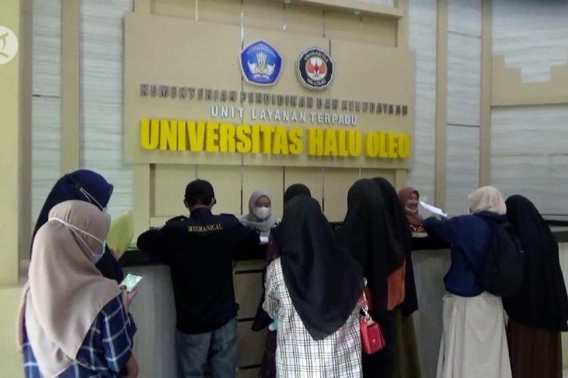 UHO buka pendaftaran mahasiswa baru hanya lewat daring
