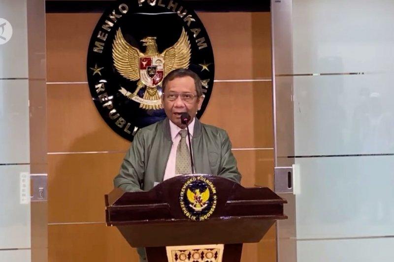 Mahfud MD: Polri dan TNI akan tingkatkan pengamanan di rumah ibadah