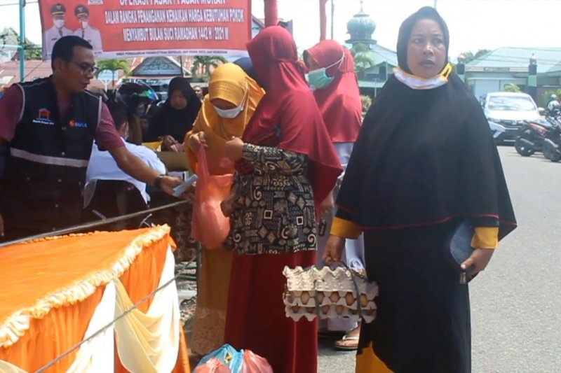 Pemkab Aceh Barat gelar operasi pasar murah jelang Ramadhan