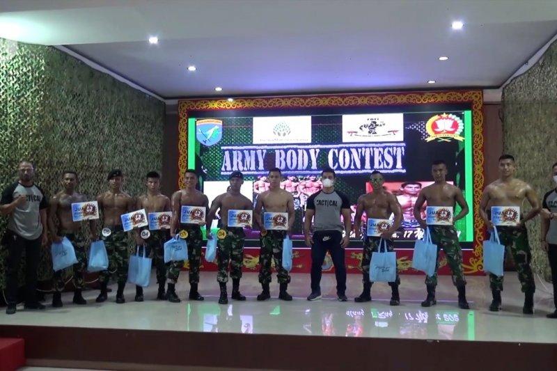 Pencarian bibit binaraga dari prajurit TNI
