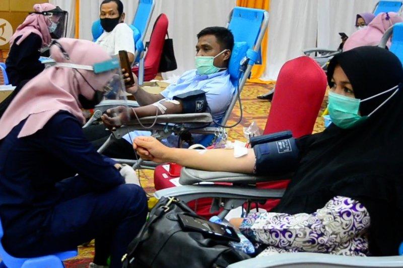 Sinergi donor darah dan vaksinasi di Riau layak jadi contoh