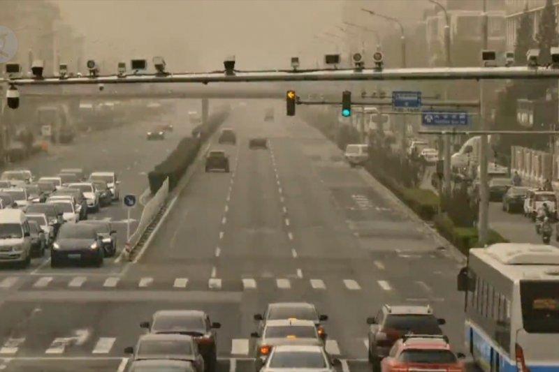 Badai pasir selimuti Beijing