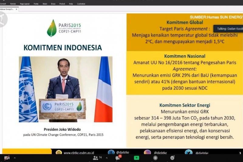 Komitmen Indonesia di Perjanjian Paris, turunkan emisi karbon 29%