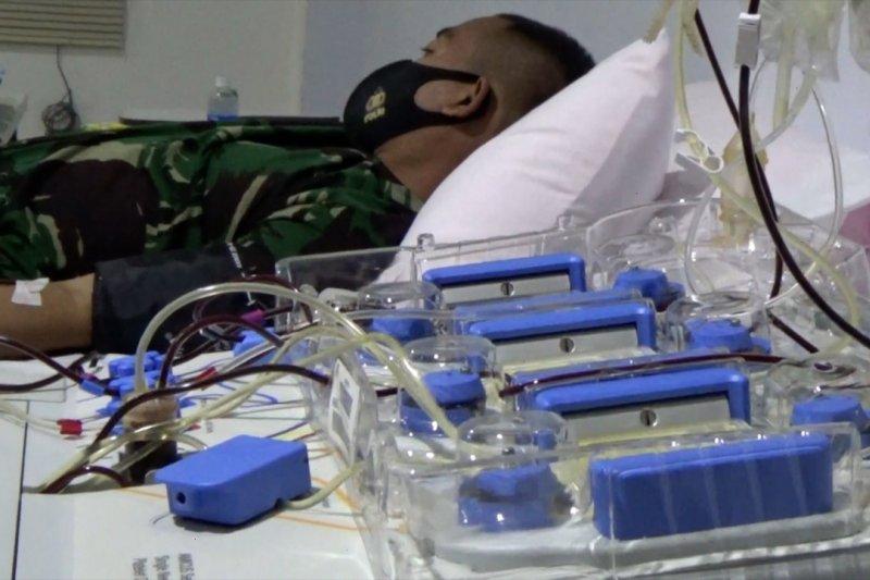 Korem 102 Panju Panjung gelar donor plasma konvalesen