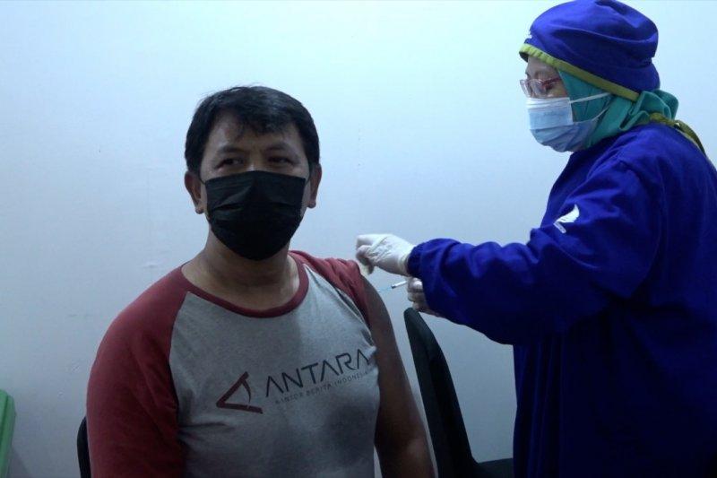 599 karyawan LKBN Antara ikuti vaksinasi Kementerian BUMN