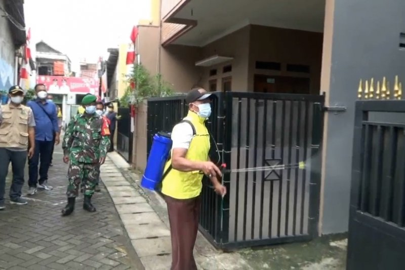 Kampung Tangguh sukses antar Tangerang Raya masuk zona kuning